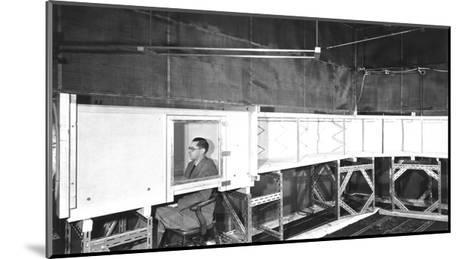 Acoustics Test, 1953-National Physical Laboratory-Mounted Giclee Print
