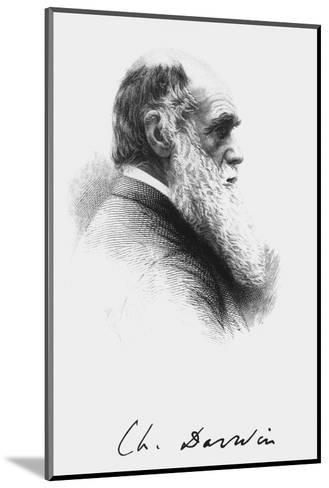 Portrait of English Naturalist Charles Darwin-Science Photo Library-Mounted Giclee Print