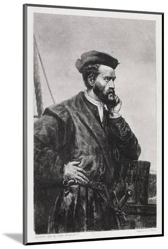 Jacques Cartier, French Explorer-Middle Temple Library-Mounted Giclee Print