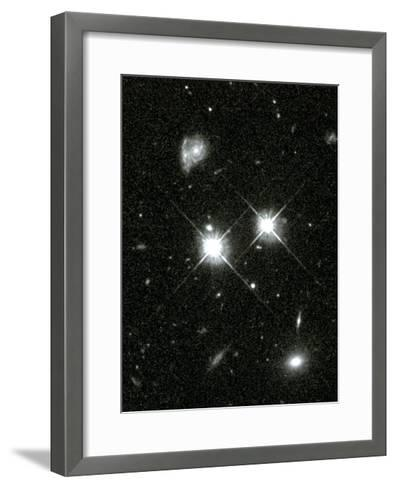 Hubble Space Telescope's 100,000th Image--Framed Art Print