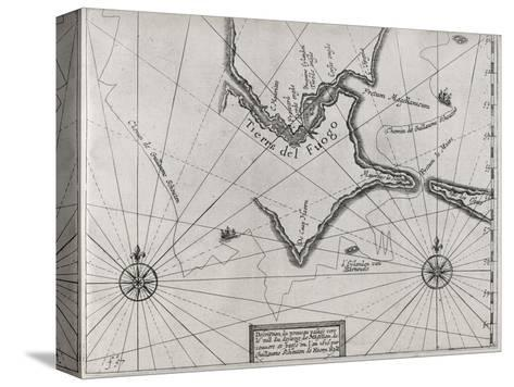 Schouten Rounding Cape Horn, 1616-Middle Temple Library-Stretched Canvas Print