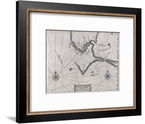 Schouten Rounding Cape Horn, 1616-Middle Temple Library-Framed Art Print