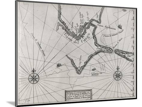 Schouten Rounding Cape Horn, 1616-Middle Temple Library-Mounted Giclee Print