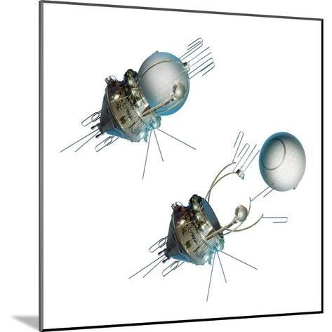 Vostok 1 Capsule Separation, Artwork-Detlev Van Ravenswaay-Mounted Giclee Print