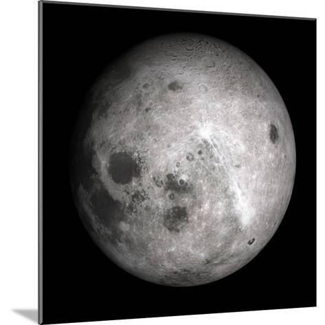 Far Side of the Moon-Detlev Van Ravenswaay-Mounted Giclee Print