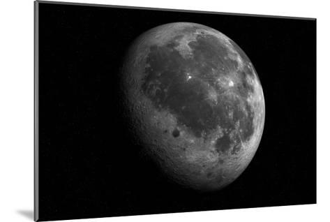 The Moon From Space-Detlev Van Ravenswaay-Mounted Giclee Print