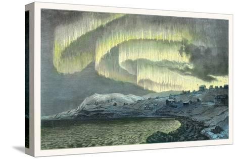 Aurora Observations, 1839-Detlev Van Ravenswaay-Stretched Canvas Print