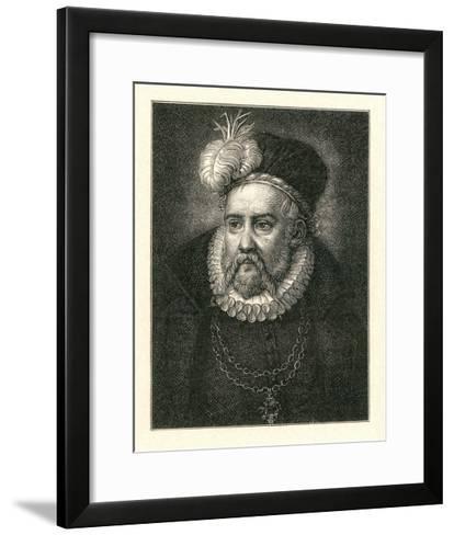 Tycho Brahe, Danish Astronomer-Detlev Van Ravenswaay-Framed Art Print