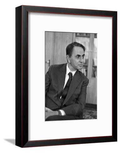 Carl Sagan, US Astronomer-Ria Novosti-Framed Art Print