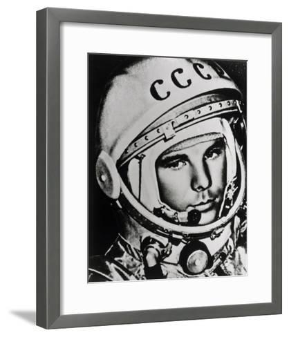 Yuri Gagarin-Ria Novosti-Framed Art Print