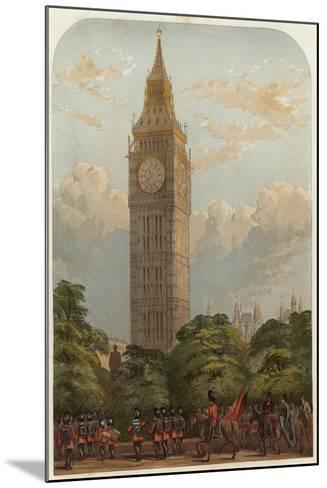 The Clock Tower--Mounted Giclee Print
