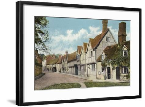 Mill Street, Warwick-English Photographer-Framed Art Print
