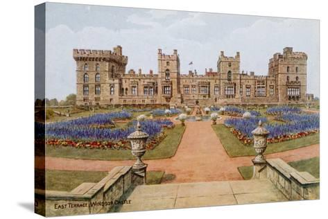 East Terrace, Windsor Castle-Alfred Robert Quinton-Stretched Canvas Print