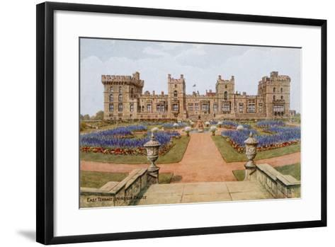 East Terrace, Windsor Castle-Alfred Robert Quinton-Framed Art Print