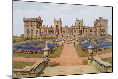East Terrace, Windsor Castle-Alfred Robert Quinton-Mounted Giclee Print