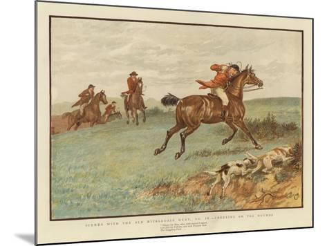 Scenes with the Old Mickledale Hunt--Mounted Giclee Print