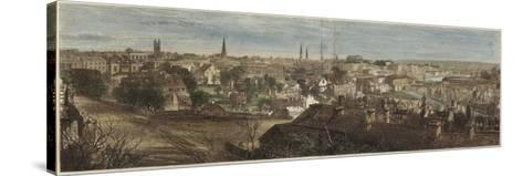 Panorama of Richmond--Stretched Canvas Print