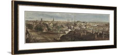 Panorama of Richmond--Framed Art Print
