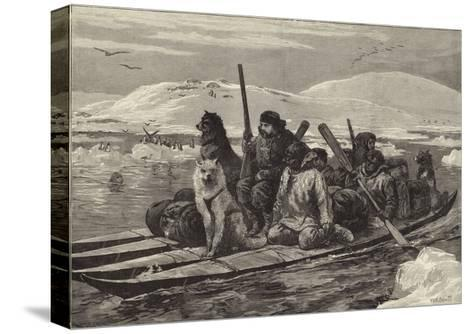 The American Franklin Search Expedition--Stretched Canvas Print