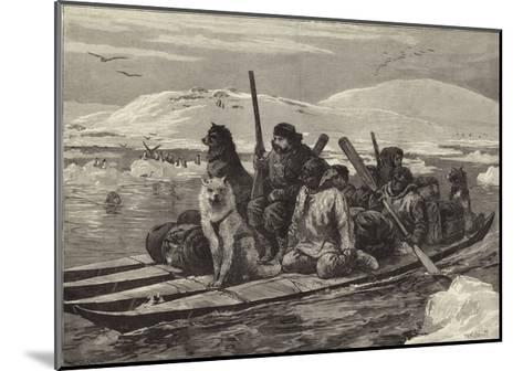 The American Franklin Search Expedition--Mounted Giclee Print