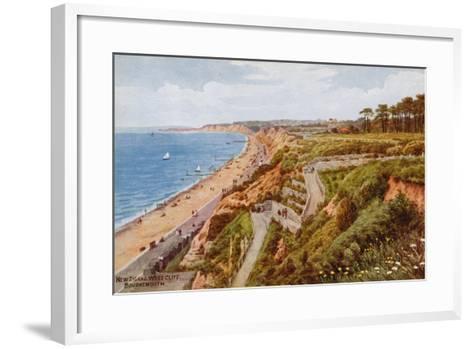 New Zig-Zag West Cliff, Bournemouth-Alfred Robert Quinton-Framed Art Print