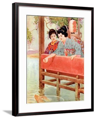 Japanese Women--Framed Art Print