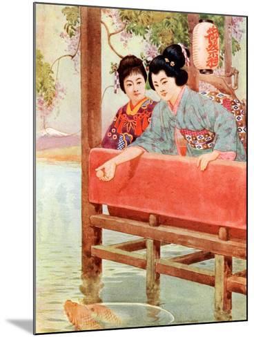 Japanese Women--Mounted Giclee Print
