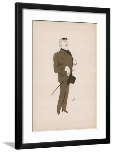 Cartoon-Sem-Framed Art Print