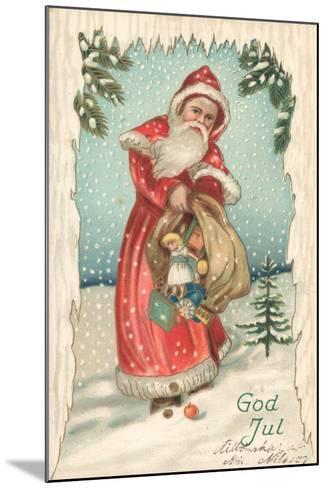 Santa-German School-Mounted Giclee Print