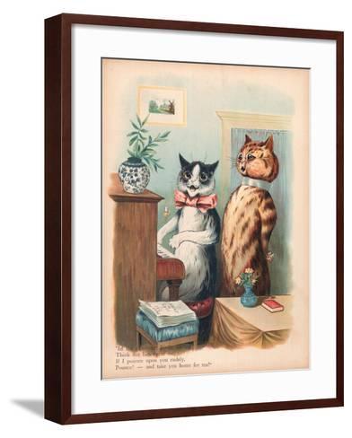 Louis Wain Cats-Louis Wain-Framed Art Print
