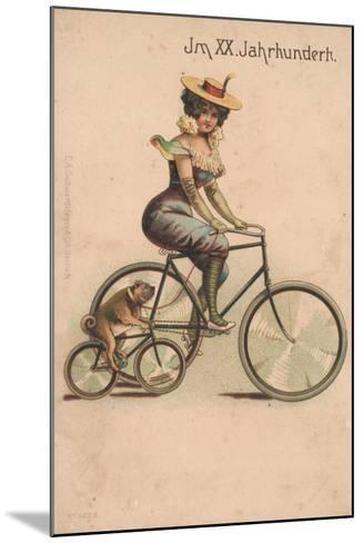 Card Celebrating the Turn of 1900-German School-Mounted Giclee Print