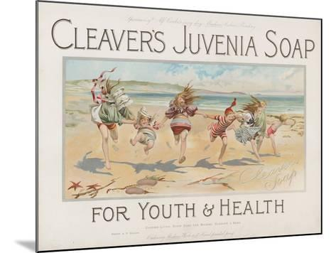 Cleaver's Juvenia Soap for Youth and Health--Mounted Giclee Print