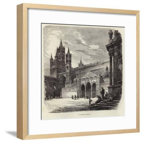 The Cathedral of Palermo-Gustave Bauernfeind-Framed Art Print