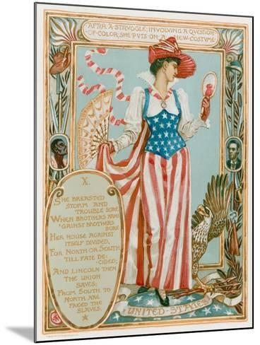 After a Struggle Involving a Question of Colour-Walter Crane-Mounted Giclee Print