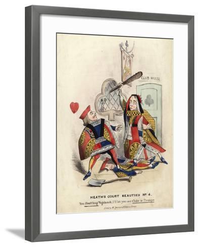 Heath's Court Beauties--Framed Art Print
