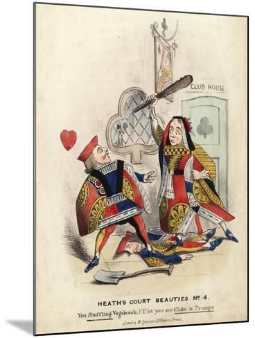 Heath's Court Beauties--Mounted Giclee Print