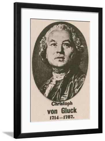 Christoph Von Gluck--Framed Art Print