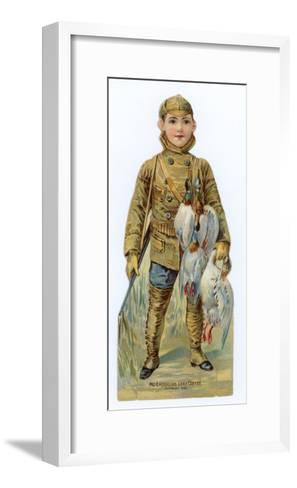 American Boy, Out Shooting for Game--Framed Art Print
