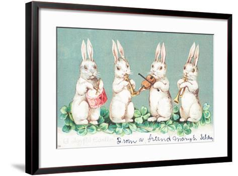 British Easter Card--Framed Art Print