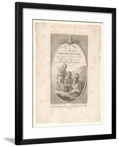 Trade Card, J Speratis-Francesco Bartolozzi-Framed Art Print