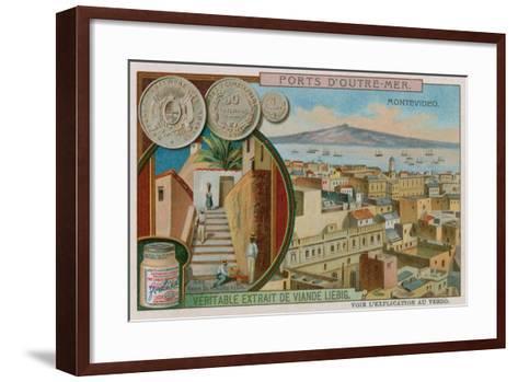 Montevideo--Framed Art Print