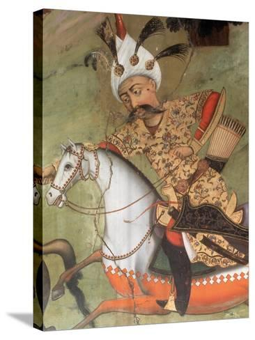Abbas I the Great (1571-1629). Shah of the Safavid Dynasty--Stretched Canvas Print
