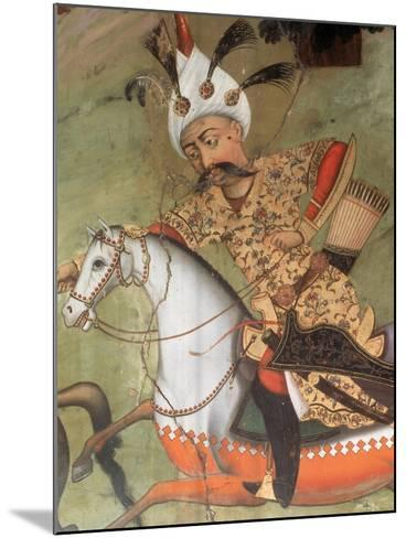 Abbas I the Great (1571-1629). Shah of the Safavid Dynasty--Mounted Giclee Print