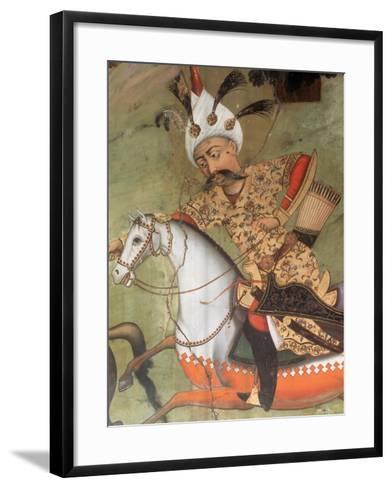 Abbas I the Great (1571-1629). Shah of the Safavid Dynasty--Framed Art Print