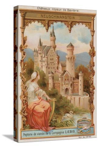 Neuschwanstein--Stretched Canvas Print