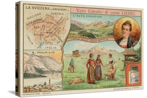 Switzerland--Stretched Canvas Print
