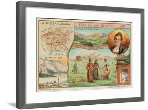 Switzerland--Framed Art Print