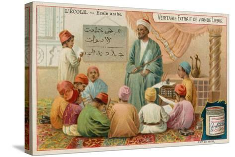 School in the Arabic World--Stretched Canvas Print