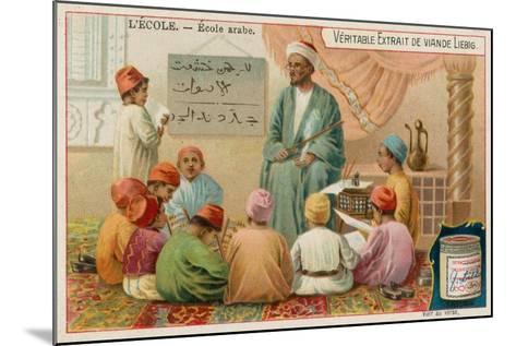 School in the Arabic World--Mounted Giclee Print