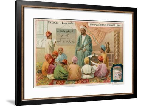 School in the Arabic World--Framed Art Print